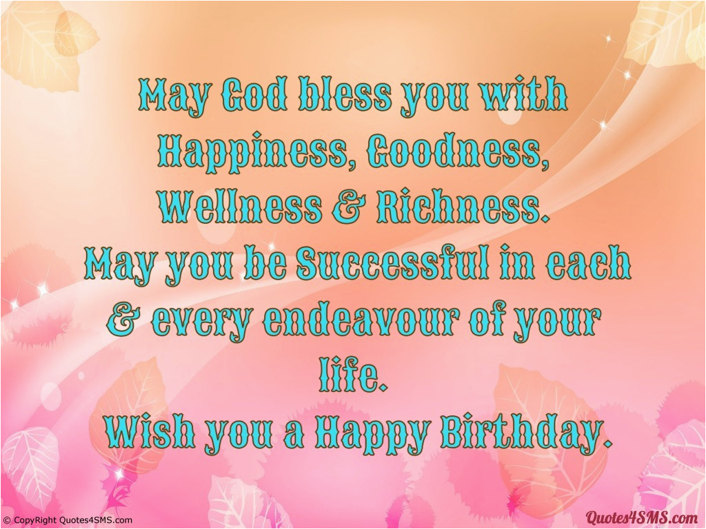 Happy Birthday May God Bless You Quotes May God Bless You Quotes Quotesgram