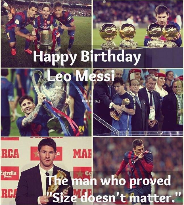 q happy birthday lionel messi