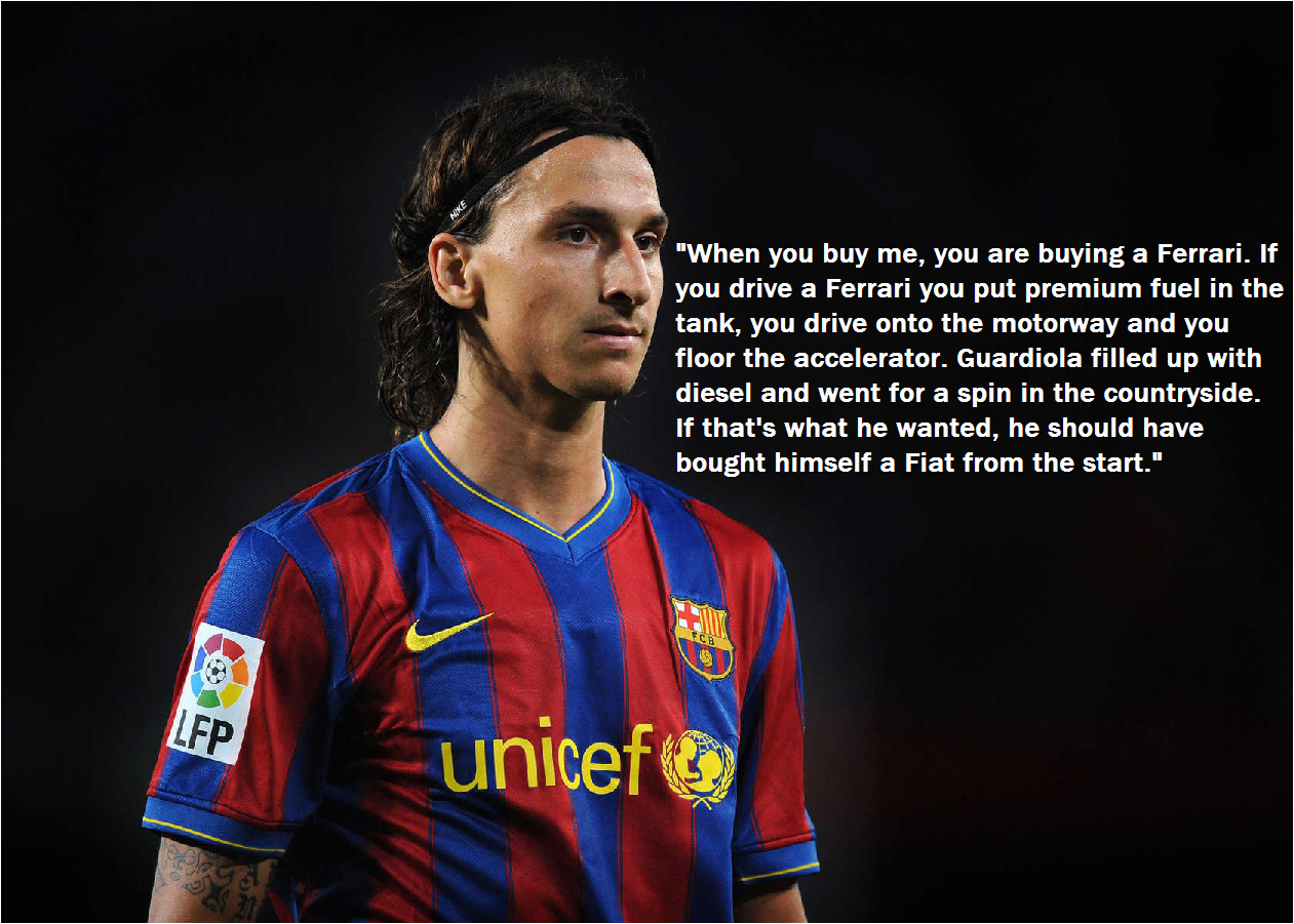 happy birthday zlatan here are 10 typical zlatan quotes to make you laugh