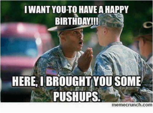 birthday military