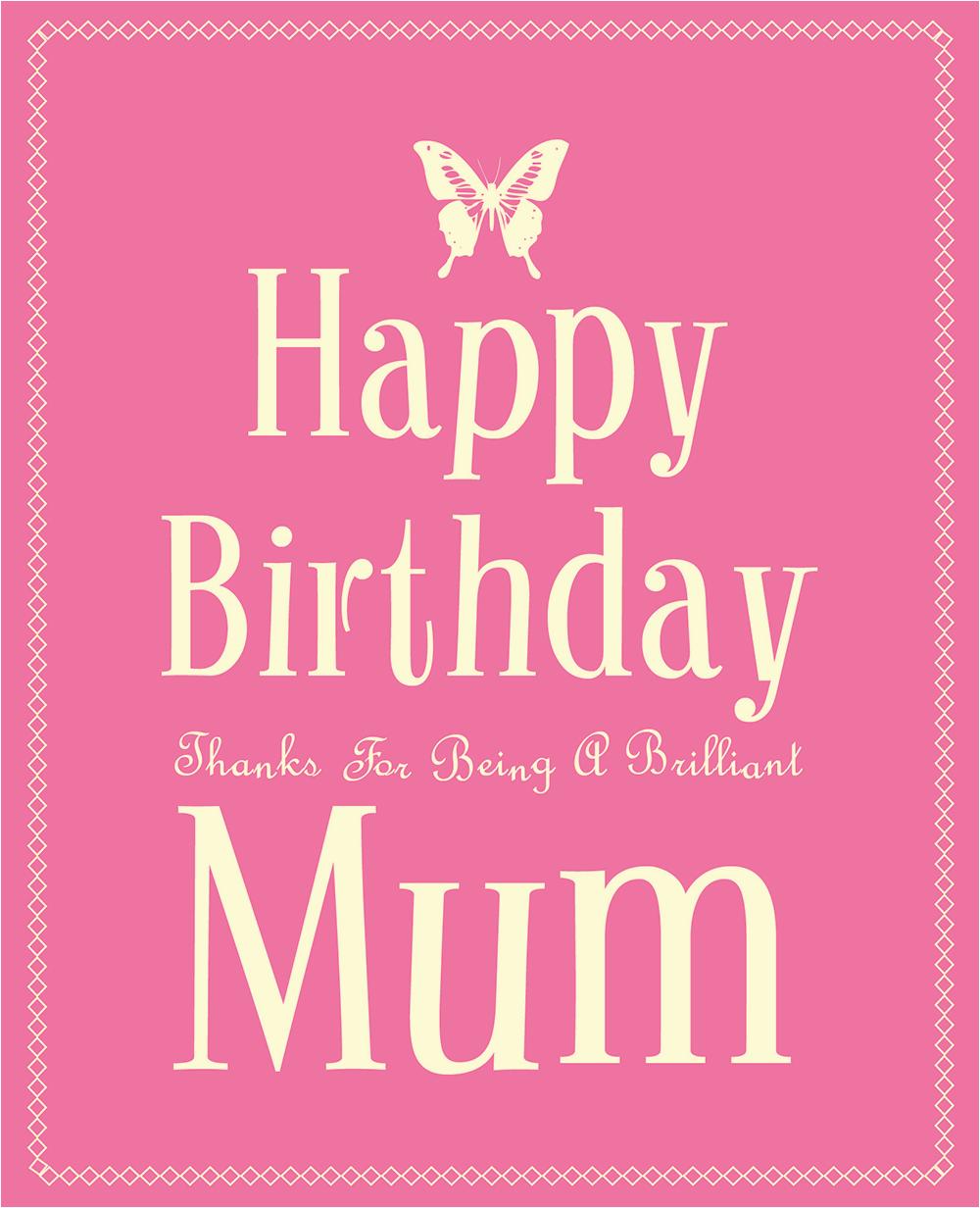 happy birthday mum uk