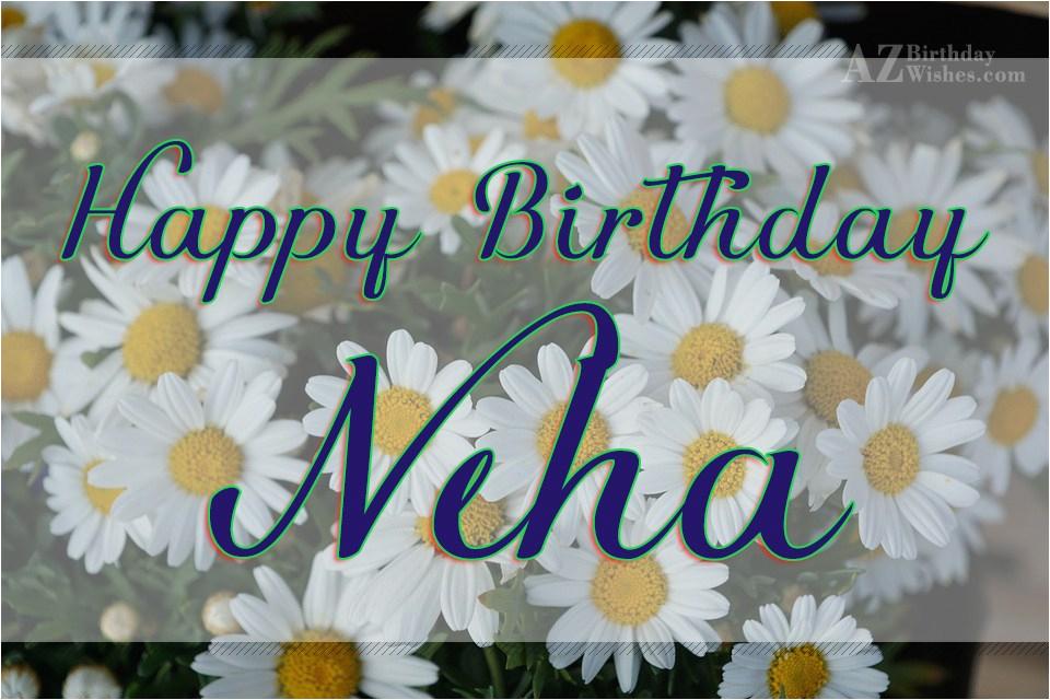 happy birthday neha