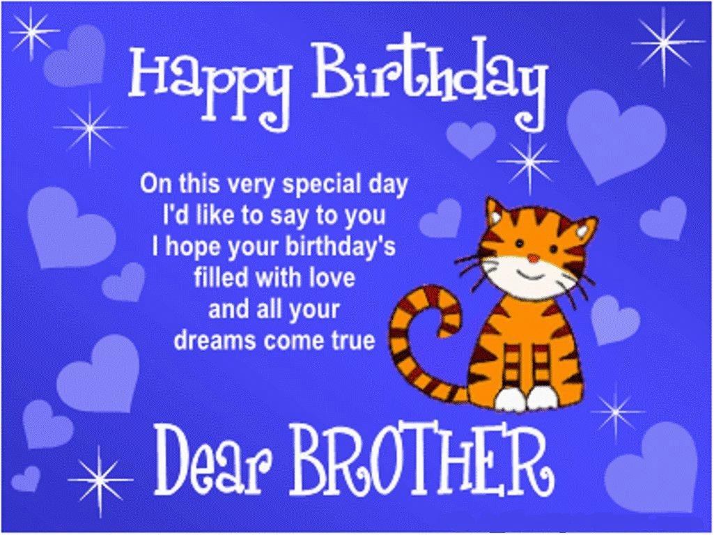 happy birthday brother quote