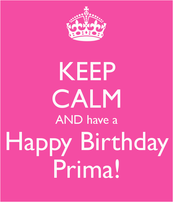 happy birthday prima quotes