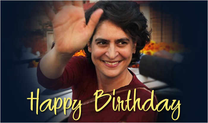 happy birthday priyanka gandhi unseen pictures of the charismatic face of congress up assembly elections 2017 1754843