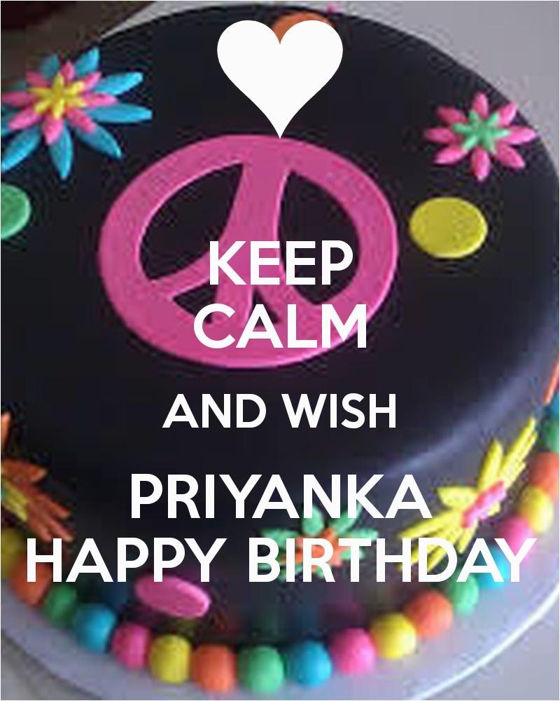 keep calm and wish priyanka happy birthday 2