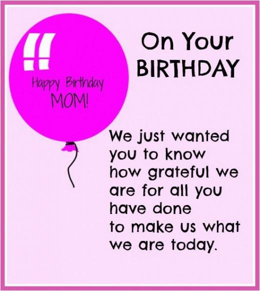 happy birthday mom quotes