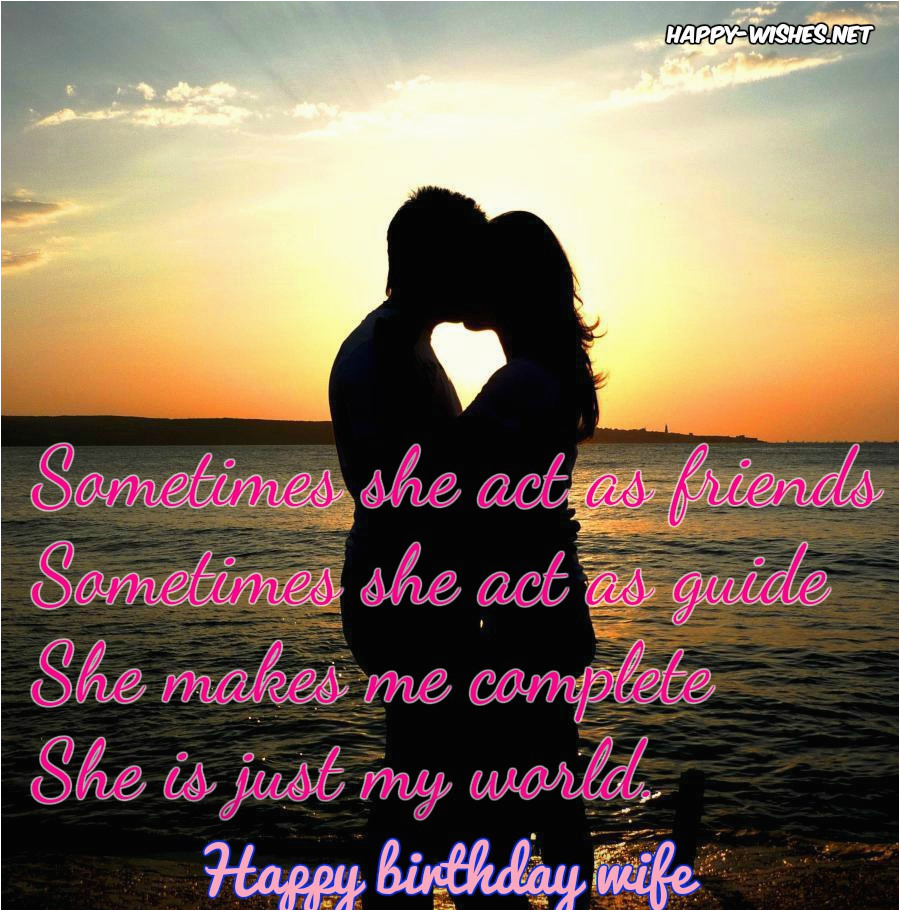 Happy Birthday Quote to Wife Happy Birthday Wishes for Wife Quotes Images and Wishes