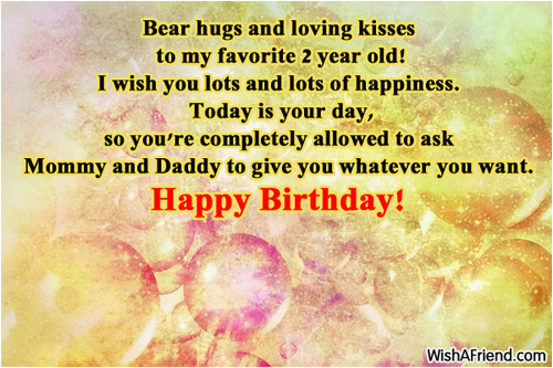 2 year old birthday quotes happy