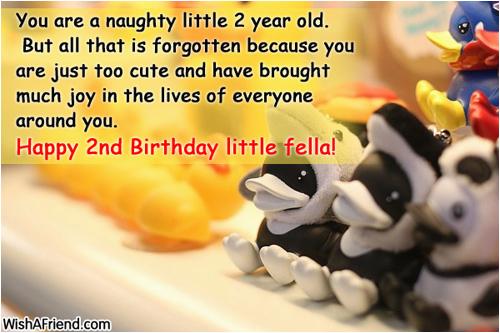 happy 2nd birthday baby boy quotes