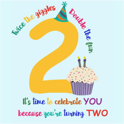 Happy Birthday Quotes For 2 Year Old Boy 2nd Free Kids Ecards Greeting