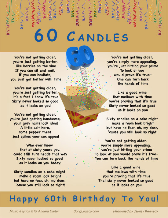 60th birthday quotes for men