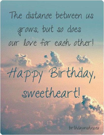 birthday wishes for far away
