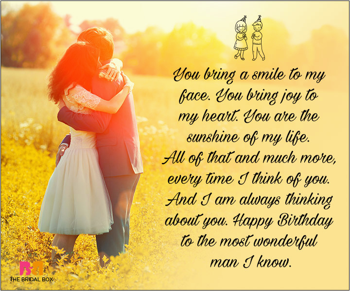 Happy Birthday Quotes for A Lover Birthday Love Quotes for Him the Special Man In Your Life