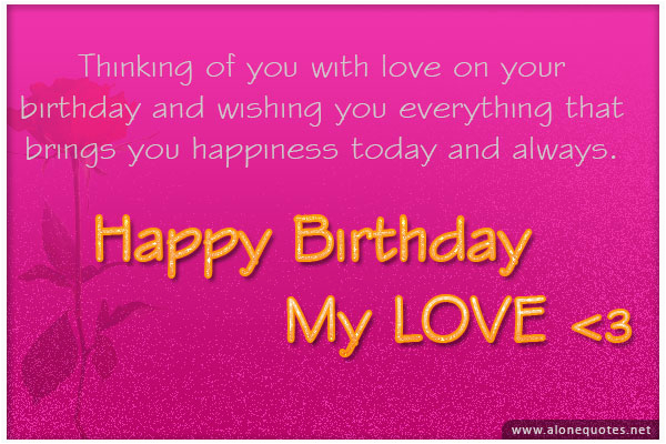 Happy Birthday Quotes for A Lover Birthday Quotes for Your Boyfriend Quotesgram