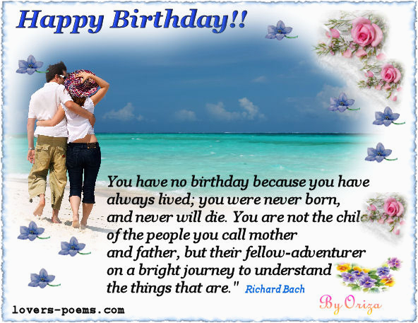 Happy Birthday Quotes for A Lover Happy Birthday Greetings for Lover