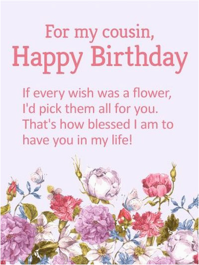 best happy birthday cousin quotes and wishes