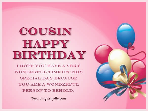 25 best happy birthday wishes and greetings for cousin