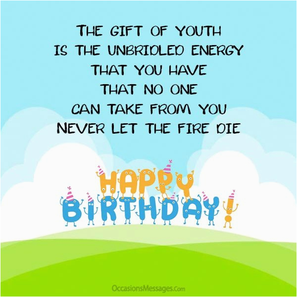 birthday wishes quotes for teenagers