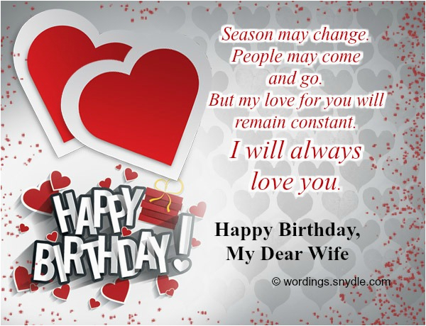 images for happy birthday message wishes for my wife