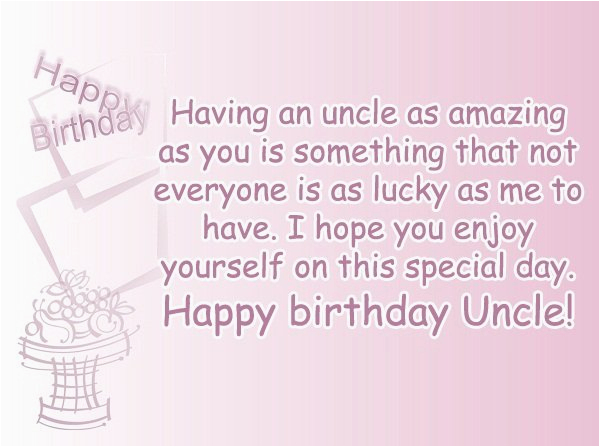 Happy Birthday Quotes for An Uncle top 110 Sweet Happy Birthday Wishes for Family Friends