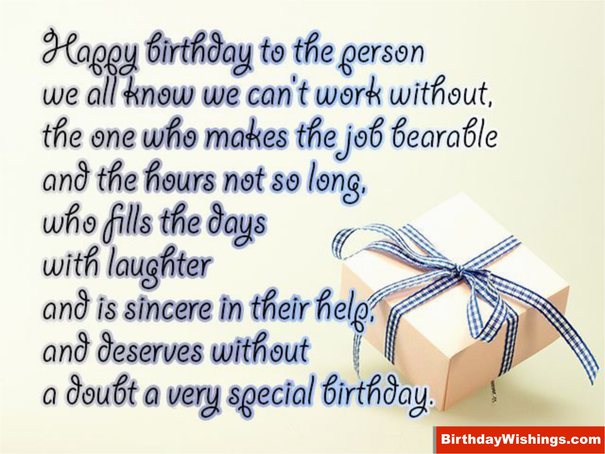 happy birthday to a special person
