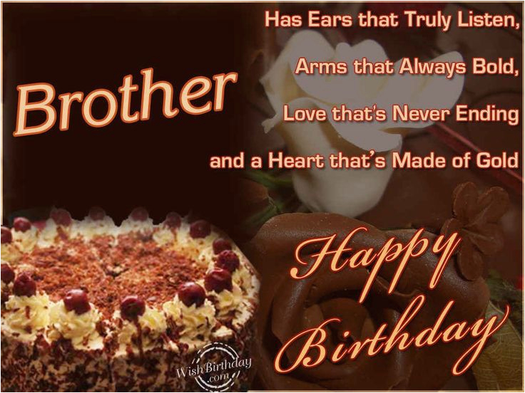 happy birthday quotes for brother in english