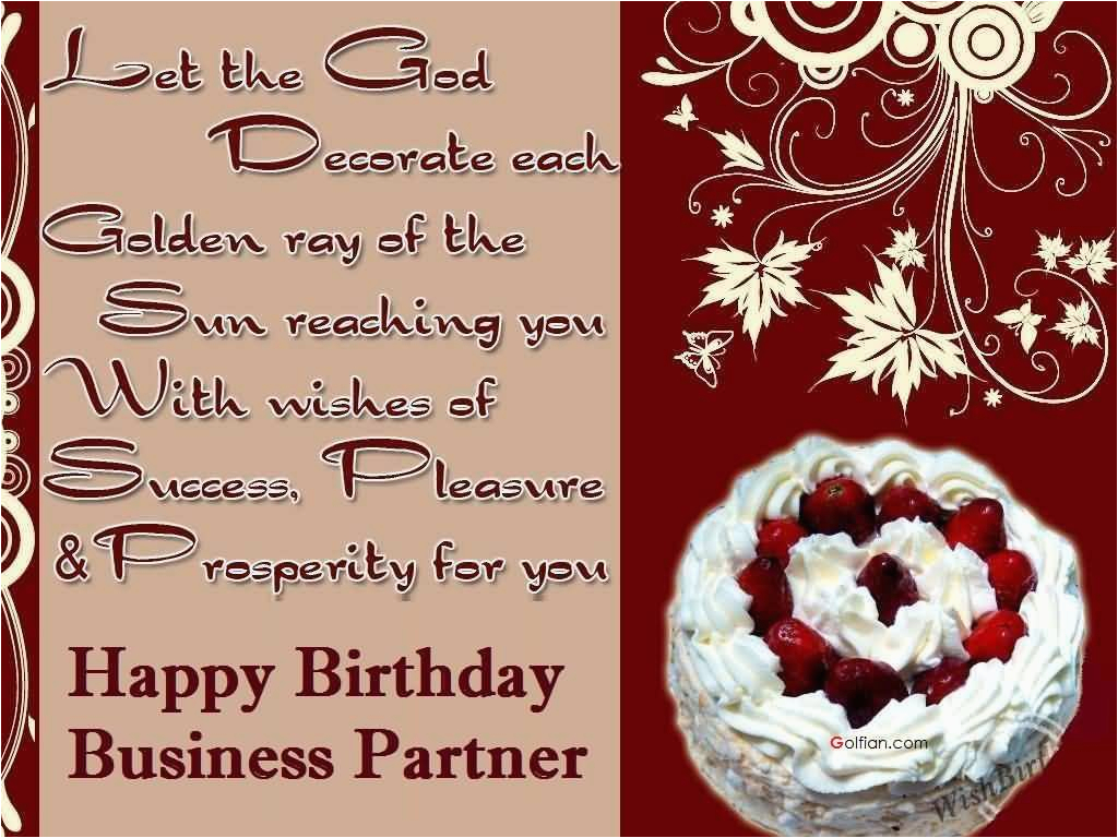 40 beautiful birthday wishes for business partner best birthday greeting images