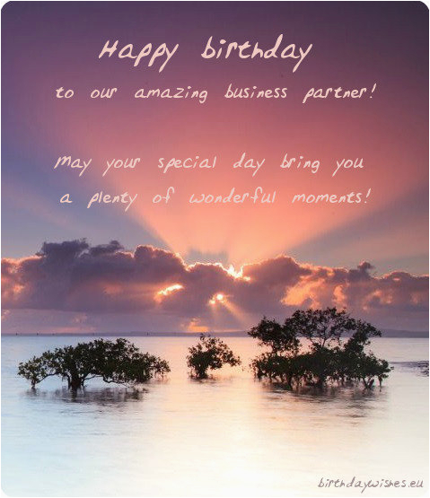 Happy Birthday Quotes for Businessmen top 20 Professional Birthday Wishes for Business Partner