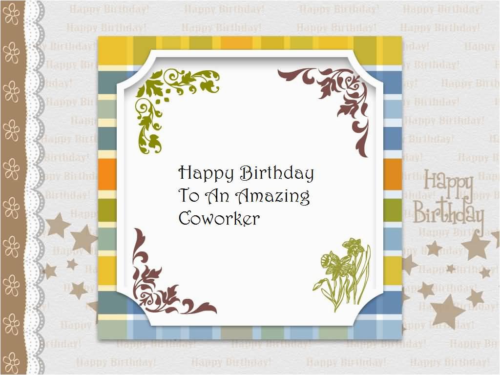 coworker birthday wishes