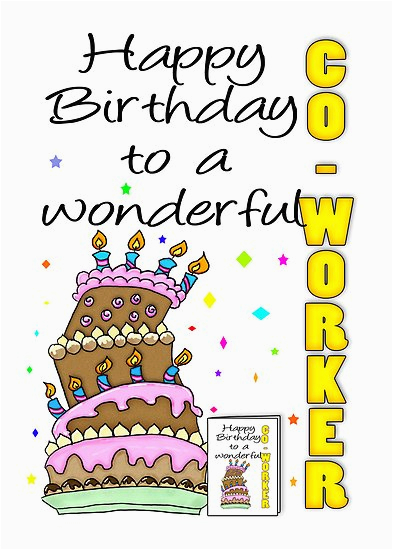 Happy Birthday Quotes for Coworkers Funny Co Worker Birthday Quotes Quotesgram