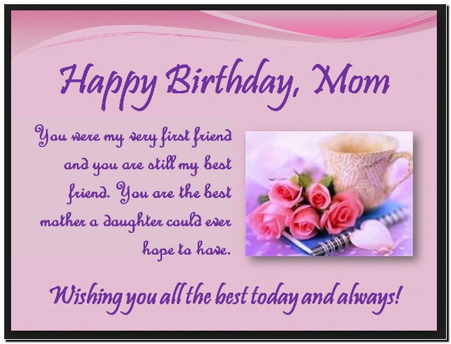 Happy Birthday Quotes For Deceased Mother Son Quotesgram