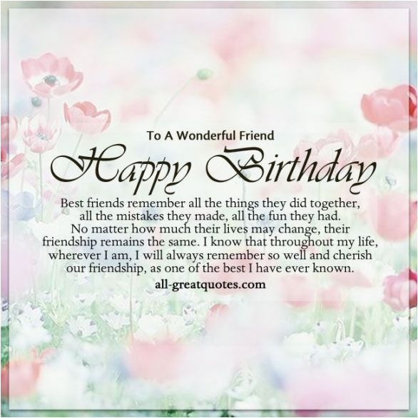 happy birthday greeting lines for fb friend