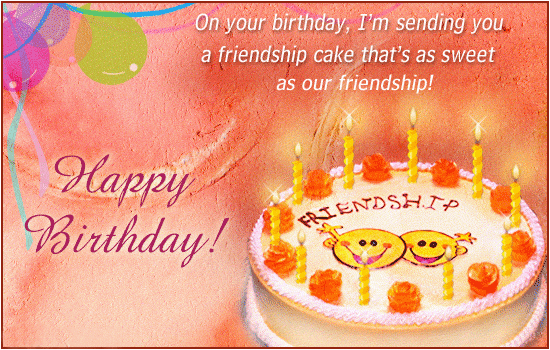 birthday wishes sms for friends