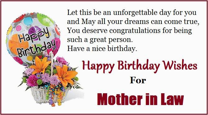 happy birthday quotes mom law