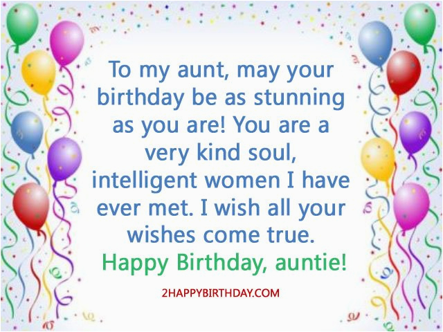happy birthday aunt wishes quotes messages