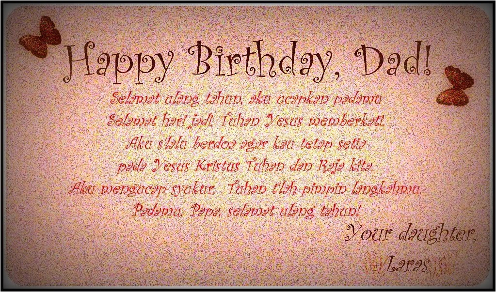 happy birthday dad from daughter quotes