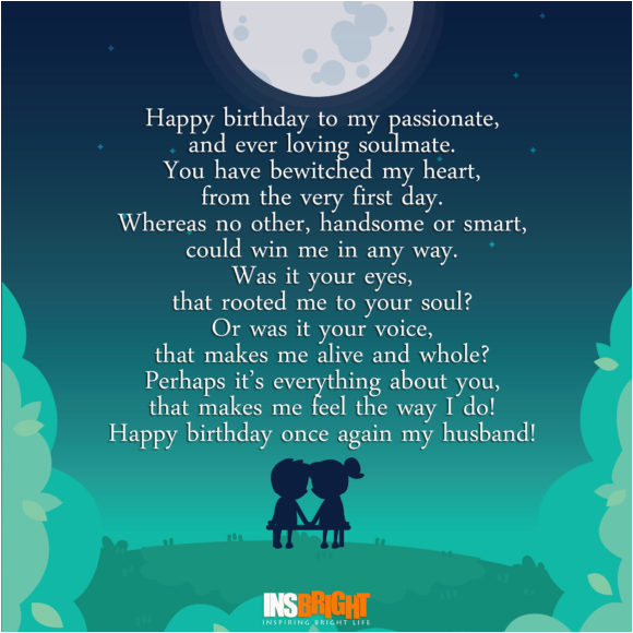 happy birthday poems about love