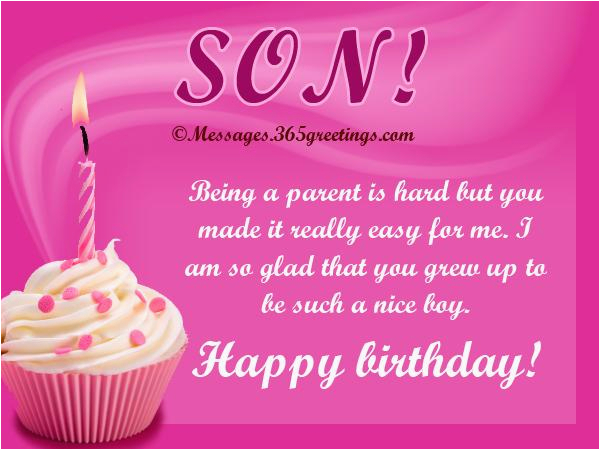 birthday quotes for a son from his mother