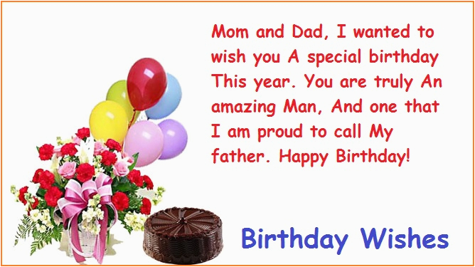 download free birthday wishes father family