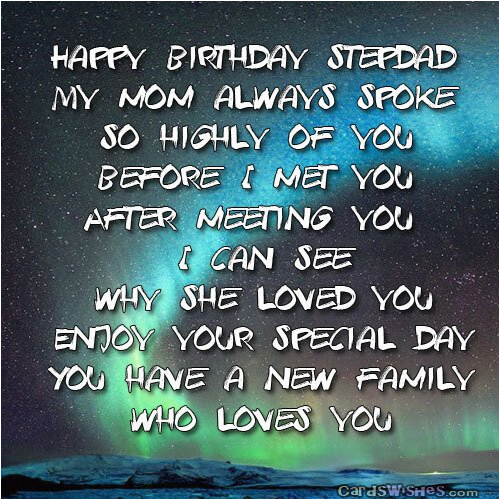 Happy Birthday Quotes for Stepdad Birthday Wishes for Stepdad Cards Wishes