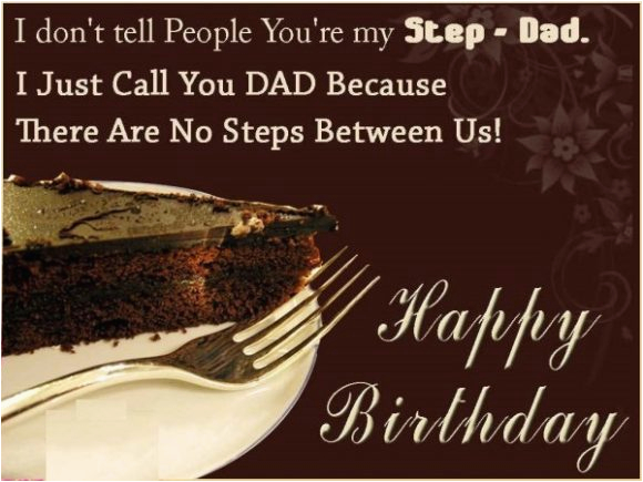 stepday birthday wishes for step father messages