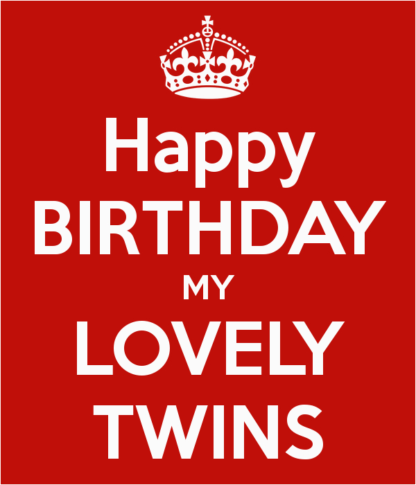 happy birthday twins boy and girl quotes