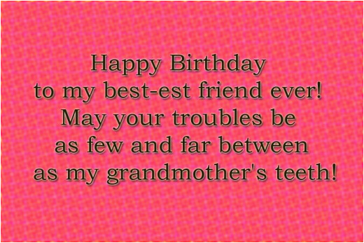 best friend birthday wishes quote