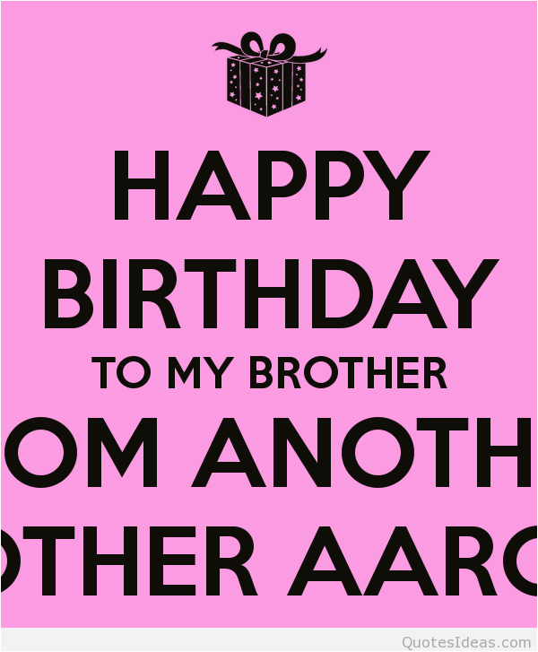 older brother birthday quotes