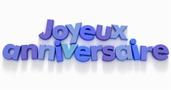 happy birthday quotes in french