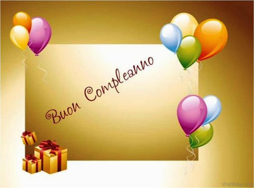 happy birthday images italian