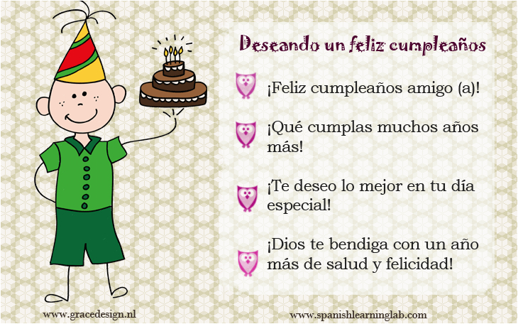 happy birthday quotes in spanish