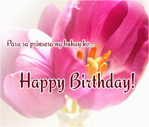 tagalog birthday messages for girlfriend