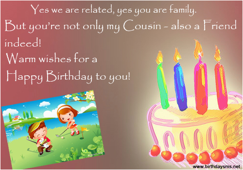 happy birthday quotes for cousins